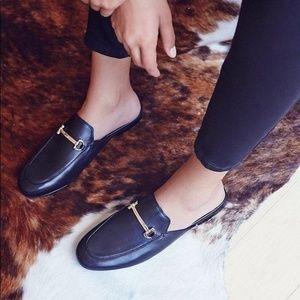 Free People Silent D Gigi Slip-On Loafers 39 NWOB